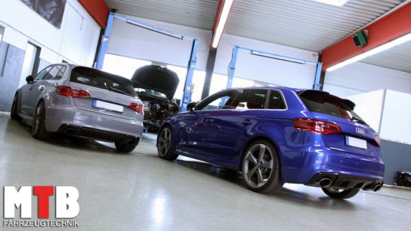 Leistungssteigerung Audi Rs3 8v Quattro Tuning