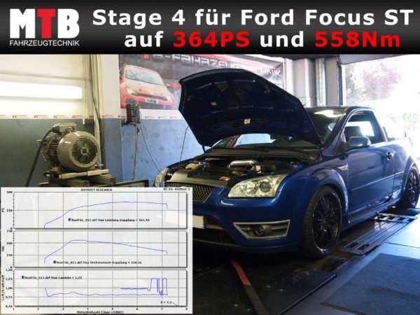 Anleitung Focus ST auf RS Technik Turbo umbau teileliste
