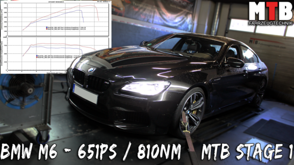 BMW f12 6er Tuning Chiptuning grand coupe