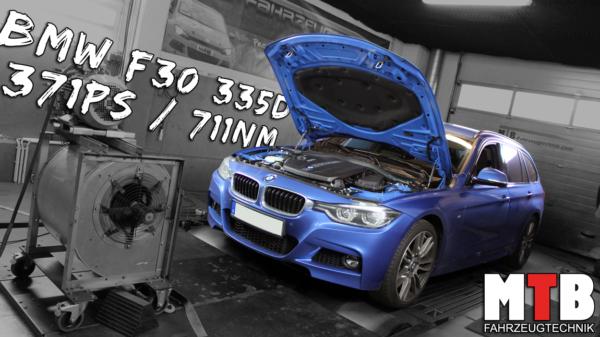 BMW f30 335d tuning potenzial mehr leistung mehr drehmoment