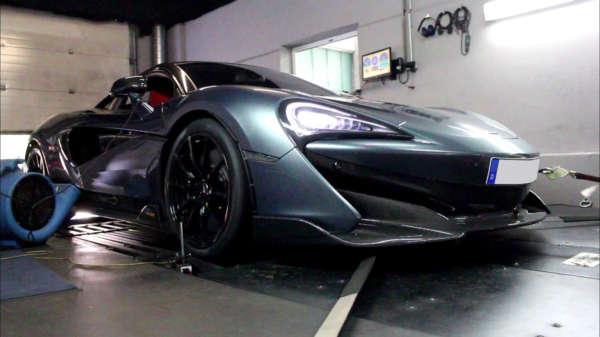 Mclaren 570s softwareoptimierung tuning cabron spoiler bodykit leistung more hp ecu optimization