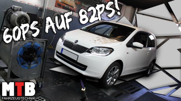 VW Up! 1.0 MPI 60PS auf ca. 75PS